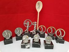 GOLF TROPHIES /  GOLF SOCIETY PRESENTATION PACK ( 10 PIECES ) FREE WOODEN SPOON
