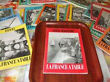 Lot de 21 revues La France à table (années 50 à 70)