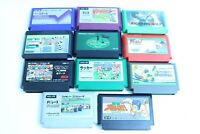 Nintendo  Famicom cartridges  Lot of 11  retoro games nes version JAPAN  3