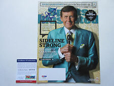 CRAIG SAGER SIGNED SPORTS ILLUSTRATED MAGAZINE PSA/DNA COA AB78756 STRONG TNT