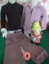 vêtements occasion fille 3 ans,pantalon,gilet BABY GAP,sous-pull PETIT BATEAU