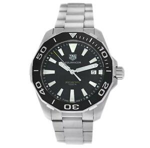 Tag Heuer Aquaracer 300M 41MM Black Dial Mens Watch WAY111A.BA0928