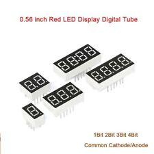 056 Inch Red 7 Segment Led Display Digital Tube Common Cathodeanode 1234bit