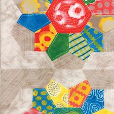 Moda ' From Outside In ' Malka Dubrawsky Geometric Cupcake Fabric Fat Quarter