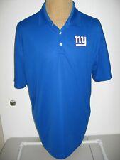 NEW YORK GIANTS BUD LIGHT NIKE POLO SHIRT ADULT MENS XL BLUE