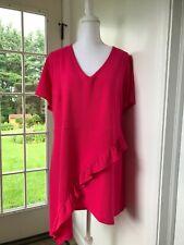 NWT Lane Bryant Pink Tunic Top Size: 18/20
