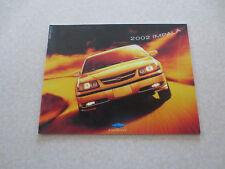 2002 Chevrolet Impala advertising booklet - Chev Canada