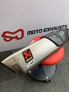 Akrapovic Slip-on E4 Aprilia RSV4/Tuono 2017-2020 Exhaust Silencer (RRP £1,836)