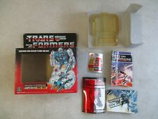 VINTAGE 1984 TRANSFORMERS JUMPSTARTER TWIN TWIST BOX AND INSERTS ONLY