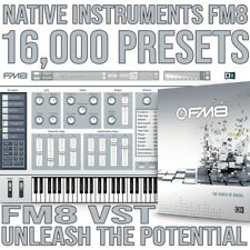 Native Instruments FM8 Presets Plus Bonus