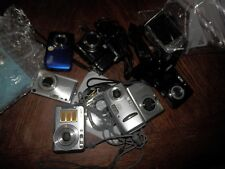 Lot of Digital Cameras, Sony, Canon, Kodak, Untested, For Parts or Repair