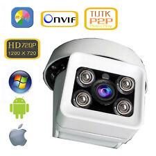 YUCHENG Outdoor Full HD 720P 1.0MP 30M IR-Cut CCTV Security IP Camera P2P ONVIF