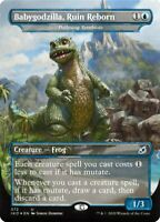 Magic the Gathering (mtg): Ikoria: Babygodzilla, Ruin Reborn - Rare - Foil