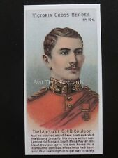 No.104 LIEUT G.H.B. COULSON Victoria Cross Heroes 101-125 REPRO Taddy 1904