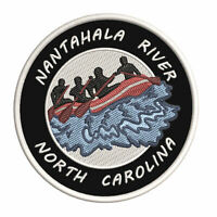 Nantahala River North Carolina Embroidered Iron / Sew-On Patch Gear Applique