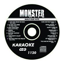 KARAOKE MONSTER HITS CD+G MALE R&B HITS  # 1120