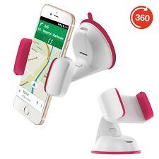 HTC One S9 Saugnapf Kfz Handy halterung Auto halter Holder A* Pink