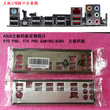 Shield Backplate FOR ASUS 970 PRO、970 PRO GAMING/AURA IO I/O Shield Back Plate