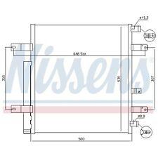 Condenseur, climatisation NISSENS (940094)