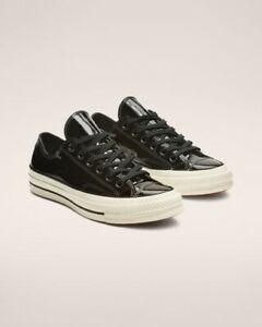 Comverse Chuck 70 Patent Leather Low Top Black