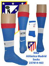 Athletico Madrid Home Socks UK 2.5-7 Euro 35.5-41 Adults  Red/Wht/Blue