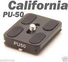 PU-50 Quick Release Plate Sirui Tripod ball head 1/4