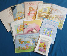 10 Different Birth Congrats/ Baby Cards with Bible Text Eb342