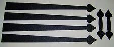 """Garage Door Decorative Hinges- MAGNETIC-Works on ANY Steel Door -24"""" + HANDLES"""
