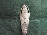 Sterling Souvenir Denver, CO Pierced Handle  1900