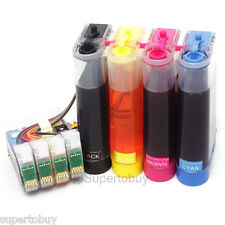 Continuous Ink System for Epson Expression XP-300 Workforce WF2530 WF2540 CISS