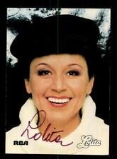 Lolita Autogrammkarte Original Signiert ## BC 134590