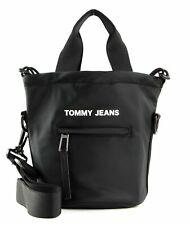 Tommy Hilfiger tjw nylon Twist Bucket Bag bandolera bolso negro Black