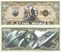 Star Wars The Force Awakens May The Force Be With You Million Dollar Bills x 2