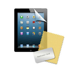 3 X PACK ULTRA CLEAR SCREEN PROTECTOR GAURD FILM FOR APPLE IPAD 2 RETAIL PACK