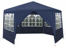 Garden Pavillon Pavilion Pavilion Party Tent 6 Square Hexagon +6 Sides #3233