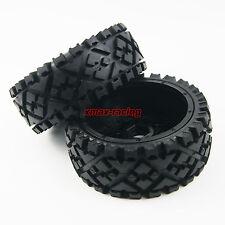 Front All Terrain Tyre tire Wheel set for Rovan King Motor HPI baja 5b SS US Xax