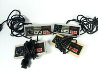 Nintendo NES Original Controllers Lot of 4 Tested Working Gamepad 1985 NES-004