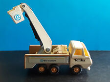 Collectible Vintage Pressed Steel 1970's Tonka Bell System Utility Truck
