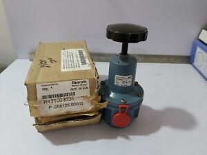 "REXROTH R4310003638 PRESSURE REGULATOR 4-S TYPE-""S"" P-055125-00000 0-150PSI"