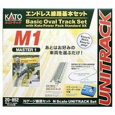 KATO 20-852 UNITRACK Master Set M1 Basic Oval Track Set N scale 4949727672762