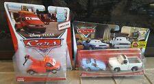 Disney Pixar Cars Lot of 2 - Deluxe Towin' Eoin & Artie & Brian Fee Clamp 2 Pack