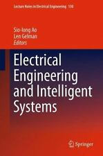 Electrical Engineering and Intelligent Systems: By Ao, Sio-Iong Gelman, Len