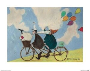 """Sam Toft """"Be Who You Be"""" Print 19.75 x 15.75"""