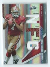 2009 Absolute Nate Davis TRIPLE RPM PATCH / BALL RELIC RC #234 12/25 49ERS