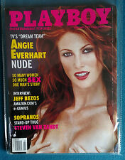 February 2000 Issue of Playboy Magazine Complete Featuring Angie Everhart   #2