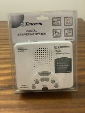 Emerson Digital Answering Machine System Tapeless Recording Model EM-1200