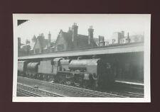 Lancashire Lancs LANCASTER Railway Station loco #45551 goods train 1960 photo