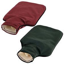 Wärmeflasche Samt-Bezug 2L Kuschel-Weich Bettflasche Bettwärmer Kissen Theraphie