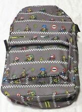 Nintendo Mario Kart Repeat Gray Backpack