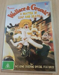 Wallace And Gromit A Matter Of Loaf And Death DVD Region 4 PAL *RARE*